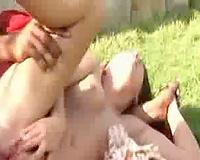 Outdoor Interracial Fondue