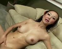 Angie Venus likes interracial sex