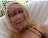 Jessica Darlin in sexy interracial scene
