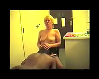 Vintage bull and amateur wife non-professional