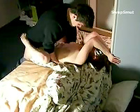 Wife blindfolded with one more stranger in a hotel screwed