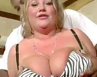 big beautiful woman drilled in 1st interracial scene