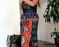 Castingcouch-HD.com - Nala worships a dark jock at casting