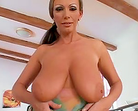 Big dark schlong for a lascivious mother I'd like to fuck