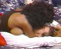 Ebony Ayes in classic fuck