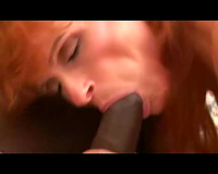 Redhead wife likes to fuck – interracial cuckold