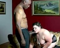 big beautiful woman Bella Benz fucks a BBC