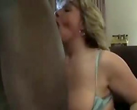 Horny mother I'd like to fuck screwed in interracial act in hotel room