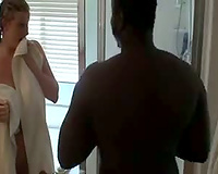 Horny Married slut drilled hard in interracial act