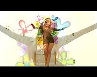 Hot slender playgirl in interracial scene