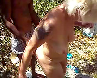 Second interracial cuckold video with mature wife in Jamaica