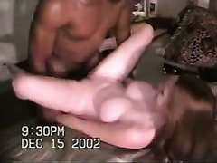 Wife gets stretched to the limit by bbc