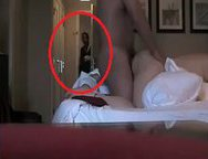 Slut Cheating Wife caught fucking her Lover on the Hotel Room