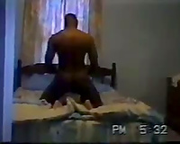 I peeked in the bedroom where my wife was fucking a black guy