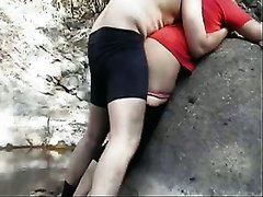 Just a quickie with my Indian slutty wife outdoors on cam