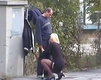 My Slutty Wife Caught With Lover or Slut Cheating Wife Caught Sucking Dick her Lover on the Street