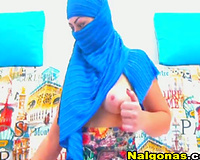 ISIS Girl Gets Nude on Webcam