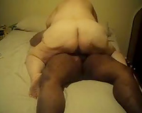This plump bitch enjoys riding my dick in cowgirl position