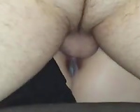 I love cumming inside my wife's deliciously lovely wet crack