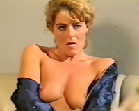 Trashy blond slut acquires fucked hard in hardcore porn clip