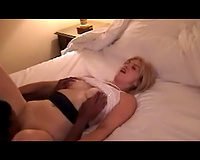 Cheating non-professional wife – interracial porn video