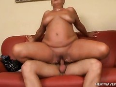 Bulky blond cougar would want to be drilled hardocre
