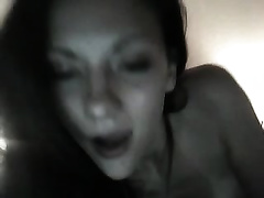 Enchanting livecam ally teases with her hairless coochie