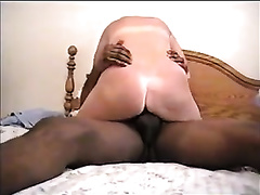 My white women just likes riding my thick dark cock in cowgirl position