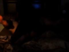 Black chap pounding my overweight white muff after movie scene night