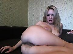Russian appetizing bimbo on livecam loves anal pleasures