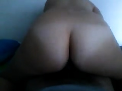Curvaceous white neighbor housewife rides my shaggy wang