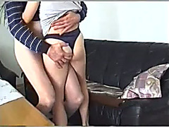 Short-haired milf sucks my shaft and acquires her bawdy cleft torn up