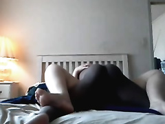 Invading my roommate's slit in interracial homemade movie