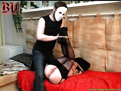 Skinny dilettante wench loves servitude games and submission