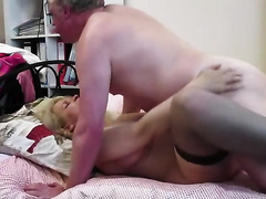 Tania Blonde Russian mother I'd like to fuck Has Missionary Sex