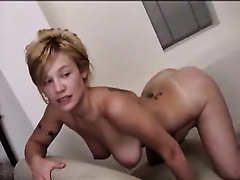 Wild sex for my slender blond hammered hard from behind