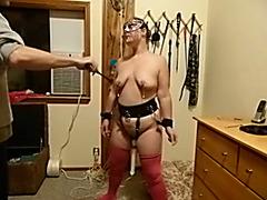 This lustful bondage slaver knows how to punish me hard
