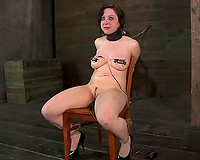 Kinky bimbos with diminutive bra buddies acquire punished hard in this BDSM clip