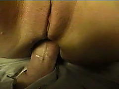 Hardcore anal sex with my curvy brunette gf at the plane's restroom