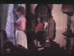 Retro porn compilation with 2 short-haired honeys