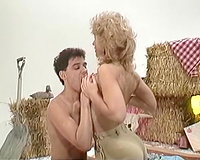Horny and sexually excited blondie with good wazoo receives shoved hard