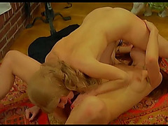 Lusty whores and lascivious males fuck at the swinger party