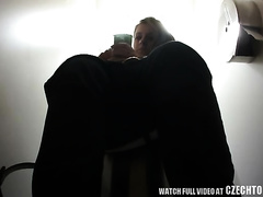 This hidden web camera movie scene can impress every pissing fetishist