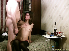 This doxy desires sex all the time and that babe desires some chap meat badly