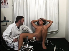 This sex machine team-fucked away at my delicious taut twat