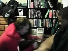 Pretty black cock sluts sucks a BBC after enjoying hawt rear banging