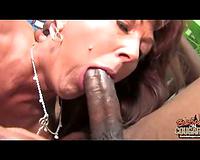 Nympho cougar – interracial group sex