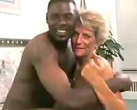 Mature Wife Satisfies Black Guy