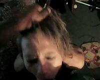 Cute mature wife black cock sucker