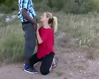 Wife interracial anal outdoors  this with black men.